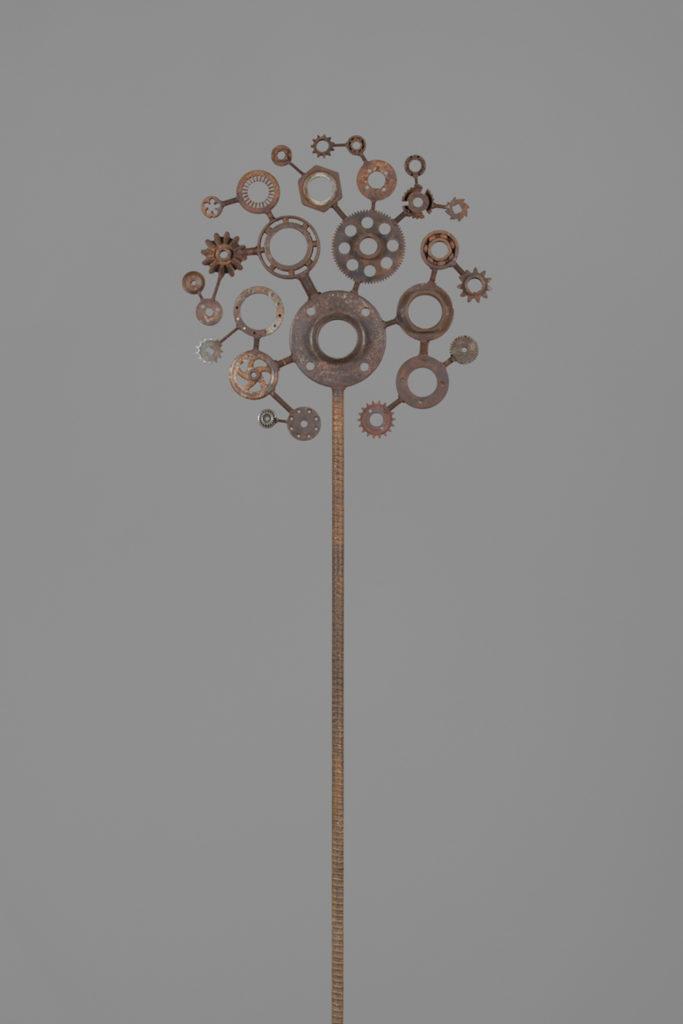 Pommier     H. 220 ; l. 64 ; P. 5 cm Vendu