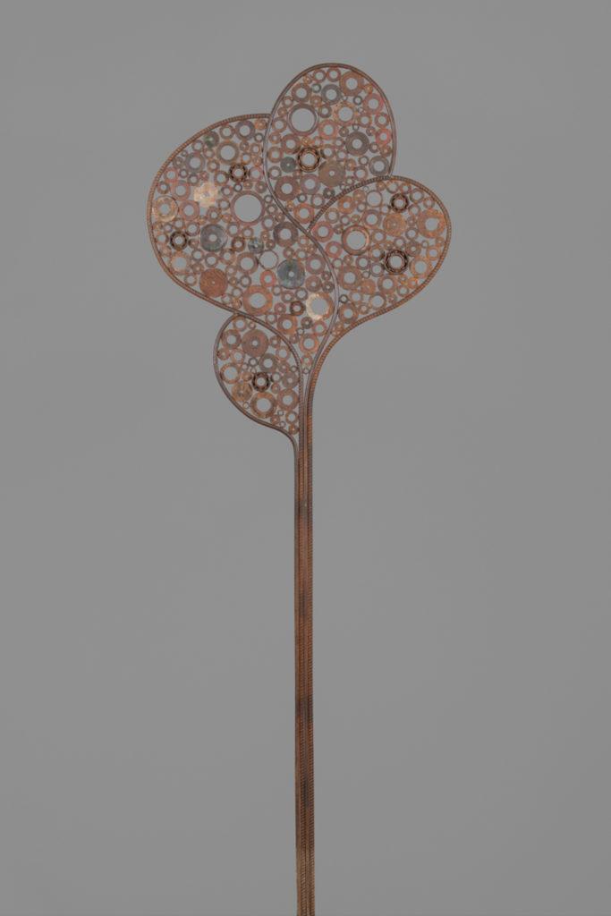 Arbre fruitier     H. 220 ; l. 72 ; P. 1.5 cm     Sold