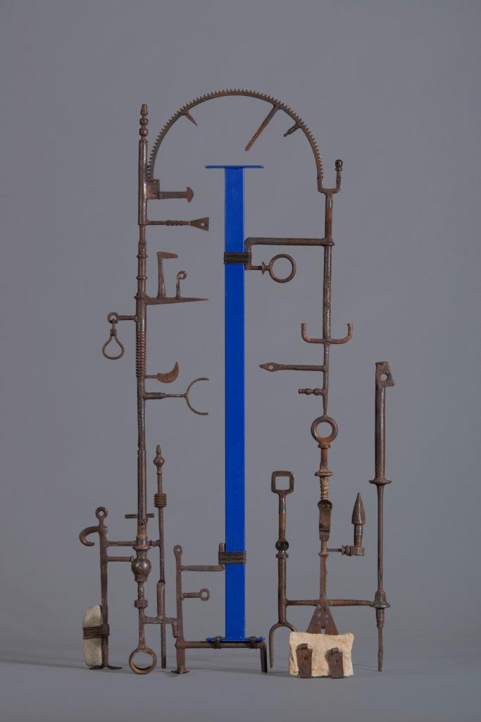 Reliquaire H. 119 ; l. 62 ; P. 28 cm