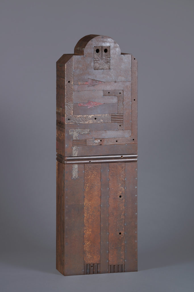 Sentinelle H. 140 ; l 45 ; P. 20 cm